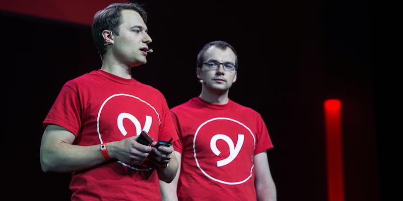 Rytis Vitkauskas, Viktoras Jucikas, YPlan, Kmeron/LeWeb13 Conference