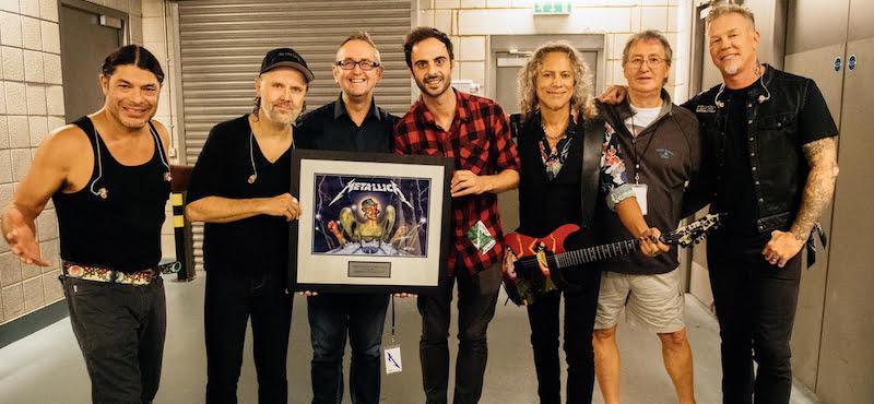 Metallica, Andy Copping, Christian D'Acuna, John Jackson, The O2, 24 October