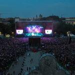 Rockavaria 2018 at the Königsplatz was attended by 35,000 people