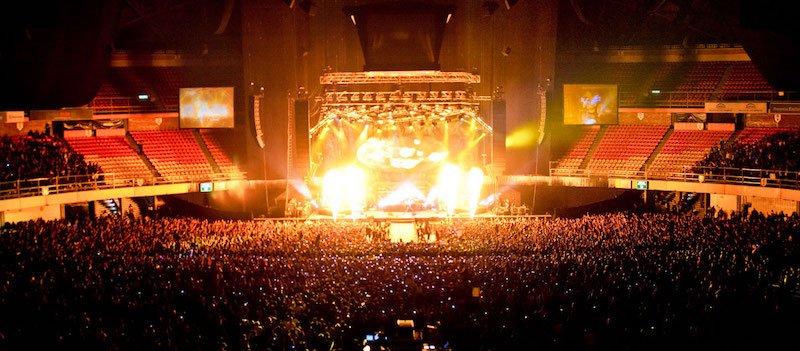 CIE/Ocesa operates Mexico City's Palacio de los Deportes, which has a capacity of 26,000 for music