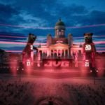 The JVG performance took place in a virtual Helsinki