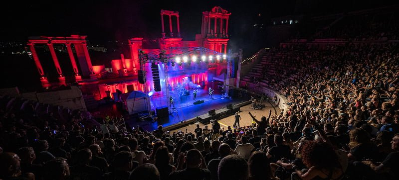 German heavy metal artist Udo Dirkschneider performed in Bulgaria