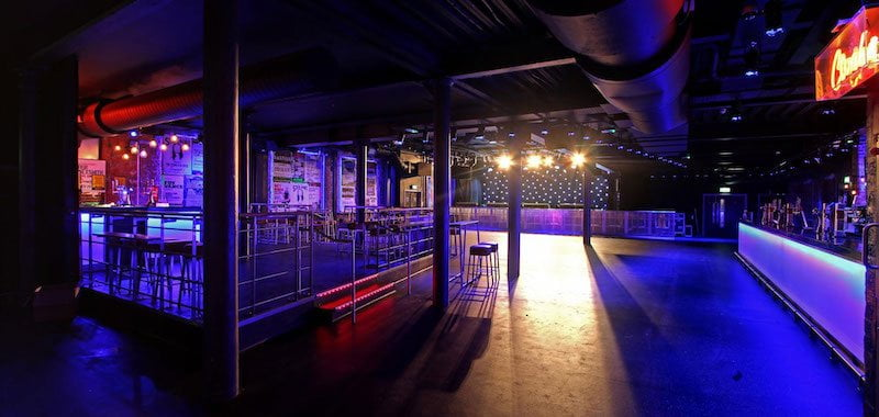 Belfast's Limelight is empty again as a result of Northern Ireland's live music ban