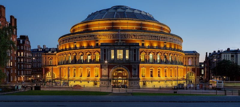 Deuchar was CEO of the Royal Albert Hall for eight years