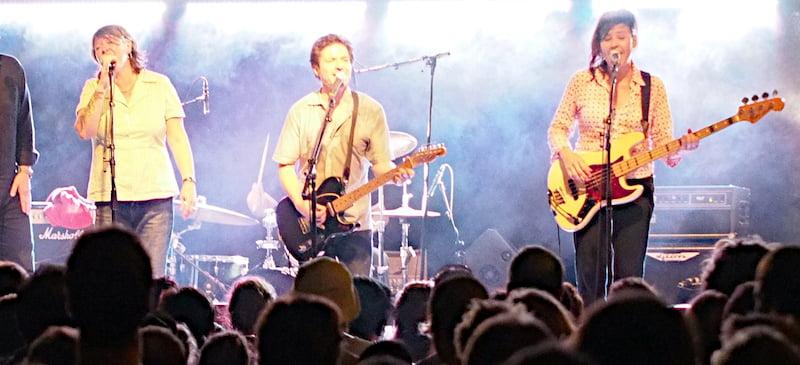 Baby Jail perform at Zurich's Helsinkiklub, part of Live DMA member association Petzi