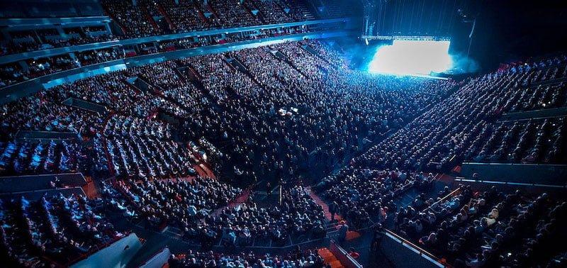 Malmö Arena is a member of Svensk Live